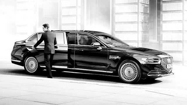 Genesis G90 Limousine: Sang xịn như Mercedes-Maybach, nhưng giá lại rẻ hơn đáng kể - Ảnh 3.