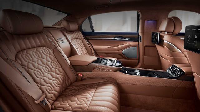 Genesis G90 Limousine: Sang xịn như Mercedes-Maybach, nhưng giá lại rẻ hơn đáng kể - Ảnh 5.