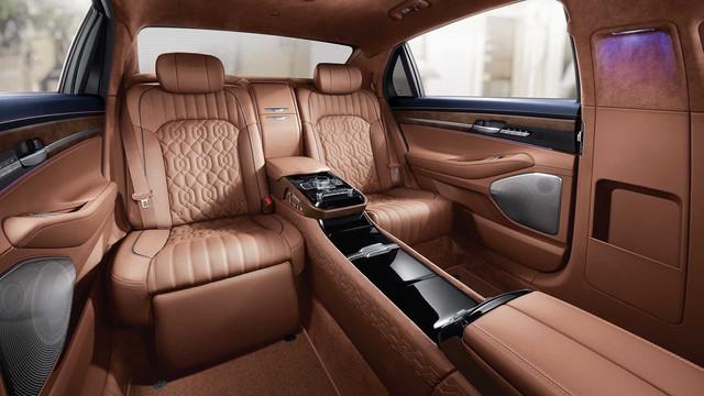 Genesis G90 Limousine: Sang xịn như Mercedes-Maybach, nhưng giá lại rẻ hơn đáng kể - Ảnh 4.