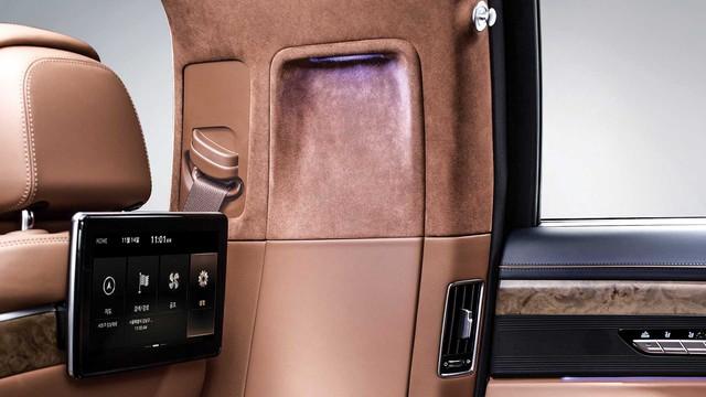 Genesis G90 Limousine: Sang xịn như Mercedes-Maybach, nhưng giá lại rẻ hơn đáng kể - Ảnh 6.