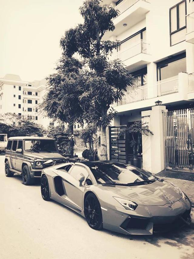 Đại gia đồng hồ chục tỷ Hà Nội sắm bộ đôi xe khủng, thêm Lamborghini Aventador Roadster thứ 2 độc hơn chiếc trước - Ảnh 2.