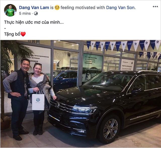 Lâm Tây mua Volkswagen Tiguan tặng bố sau 9 năm lập nghiệp xa nhà - Ảnh 1.