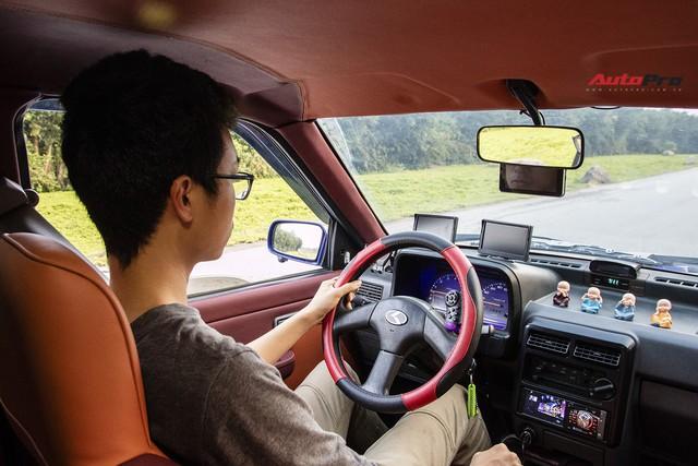 9X Hà thành khôi phục chiếc Kia 20 năm tuổi giá ngang Honda SH và câu chuyện 500 km du xuân Mộc Châu - Ảnh 5.