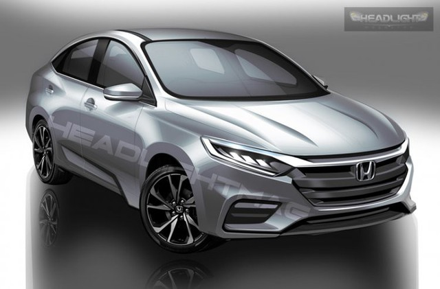 Honda City động cơ turbo với thiết kế như Accord có thể ra mắt trong năm nay, Toyota Vios phải dè chừng - Ảnh 1.
