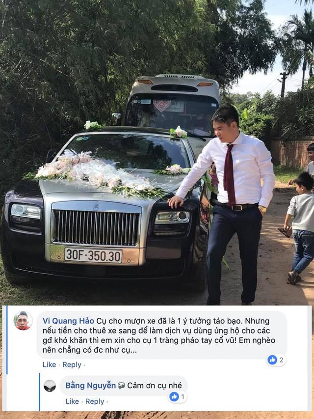 Chủ Rolls-Royce tìm người cho mượn Lexus chơi Tết nhận phản hồi ít ai ngờ tới - Ảnh 4.