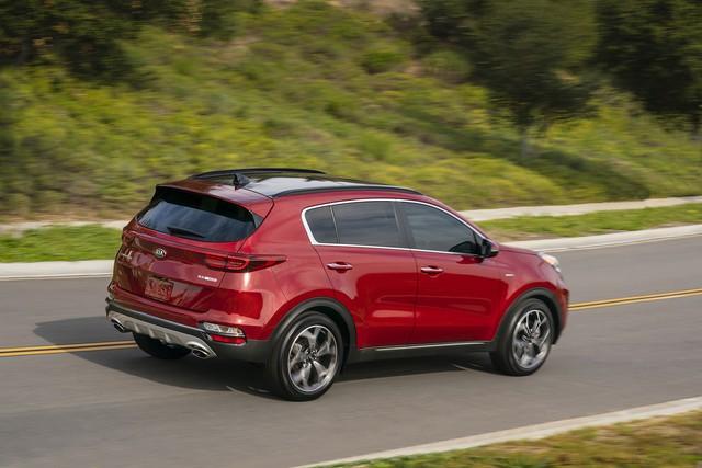 Kia Sportage tung phiên bản mới đấu Mazda CX-5 - Ảnh 5.