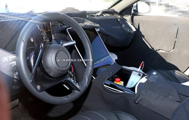 Mercedes-Benz S-Class thế hệ mới lộ thêm ảnh nội thất: Màn hình và đồng hồ to hơn cả iPad Pro 12.9 - Ảnh 3.