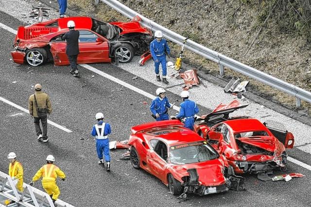 Những vụ tai nạn khiến chủ xe viêm màng túi nặng nề nhất: Bài học cần biết trước khi mua xe Ferrari - Ảnh 4.
