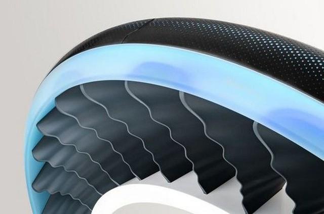 Độc đáo ý tưởng lốp xe kiêm cánh quạt, vừa là bánh xe đi trên mặt đất nhưng cũng có thể biến thành cánh quạt khi bay - Ảnh 2.