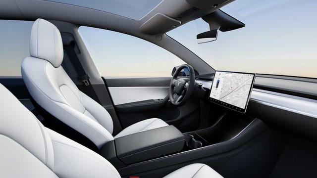 Tesla Model Y chính thức ra mắt: Tham vọng dành khách của Honda CR-V, Hyundai Kona - Ảnh 4.