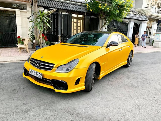 14 năm tuổi, xe dân chơi Mercedes-Benz CLS bán lại rẻ hơn Hyundai Accent cả chục triệu đồng - Ảnh 6.