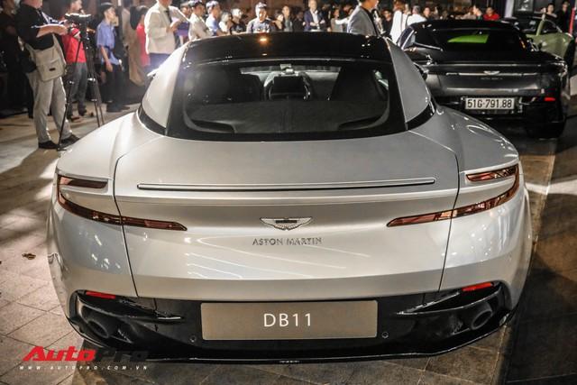 Cận cảnh Aston Martin DB11 V8 của đại gia Vũng Tàu, sở hữu tùy chọn có giá 200 triệu đồng - Ảnh 8.