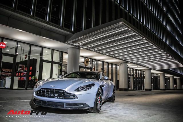 Cận cảnh Aston Martin DB11 V8 của đại gia Vũng Tàu, sở hữu tùy chọn có giá 200 triệu đồng - Ảnh 12.