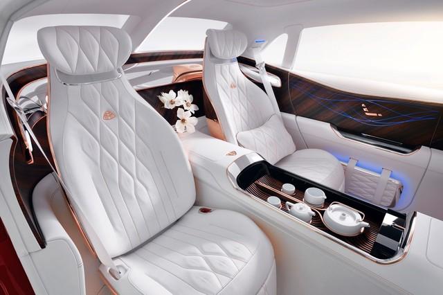 Mercedes sắp tung siêu phẩm Maybach hoàn toàn mới, sang xịn nhất từ trước tới nay để sánh ngang Rolls-Royce - Ảnh 3.
