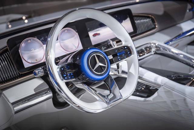 Mercedes-Maybach sẽ mở màn phân khúc SUL với SUV lai sedan siêu sang này - Ảnh 3.