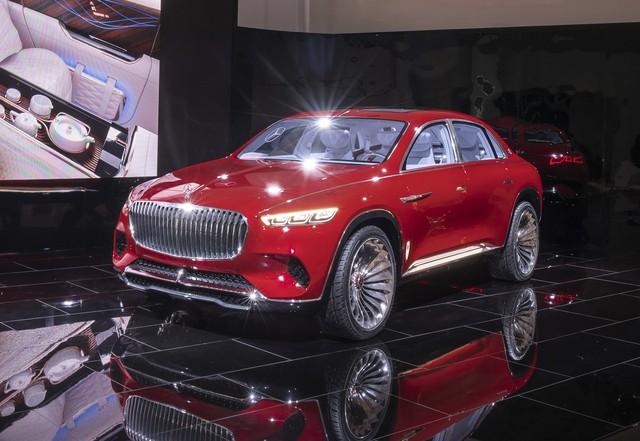 Mercedes sắp tung siêu phẩm Maybach hoàn toàn mới, sang xịn nhất từ trước tới nay để sánh ngang Rolls-Royce - Ảnh 1.