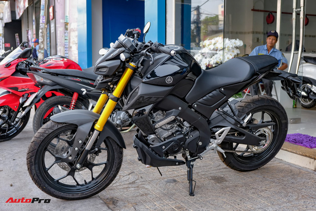 Cận cảnh Yamaha MT-15 giá 79 triệu đồng đầu tiên về Việt Nam - Hàng hot cho giới trẻ - Ảnh 1.