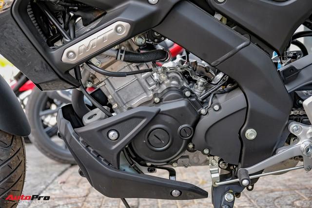 Cận cảnh Yamaha MT-15 giá 79 triệu đồng đầu tiên về Việt Nam - Hàng hot cho giới trẻ - Ảnh 13.