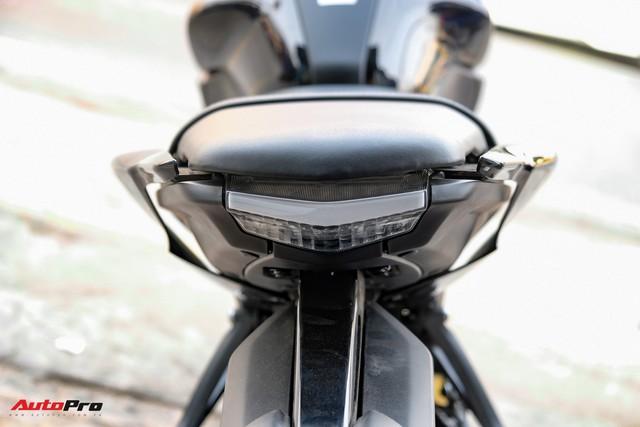 Cận cảnh Yamaha MT-15 giá 79 triệu đồng đầu tiên về Việt Nam - Hàng hot cho giới trẻ - Ảnh 10.