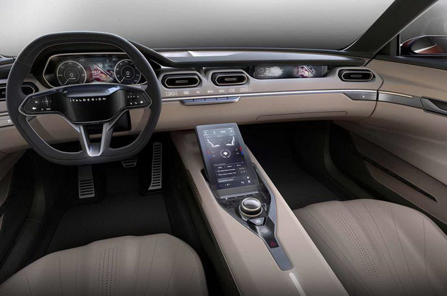 Hãng thiết kế cho VinFast tung mẫu xe cửa cánh chim khiến fan mê mẩn, sẵn sàng bán thiết kế với giá đẹp - Ảnh 4.