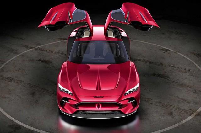 Hãng thiết kế cho VinFast tung mẫu xe cửa cánh chim khiến fan mê mẩn, sẵn sàng bán thiết kế với giá đẹp - Ảnh 3.