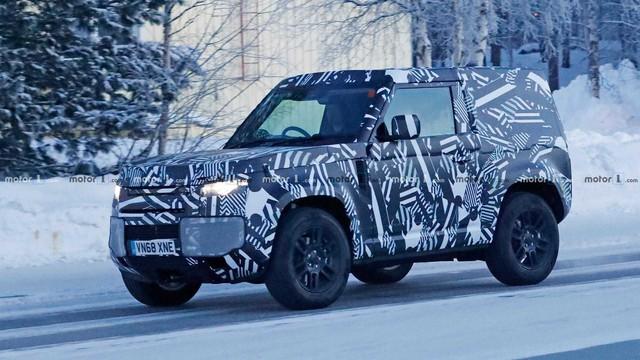 Chỉ một bức ảnh duy nhất, nội ngoại thất Land Rover Defender lộ diện cùng lúc - Ảnh 3.