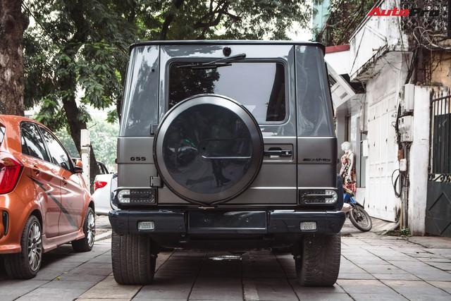 Mercedes-AMG G55 sở hữu hai màu sơn lạ mắt của đại gia buôn đồ xa xỉ tại Hà Nội - Ảnh 14.