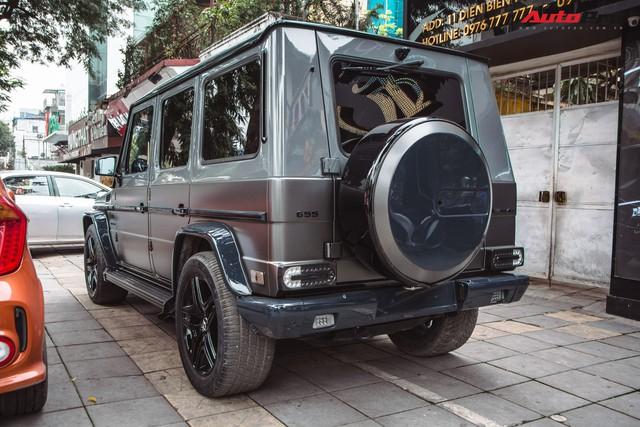 Mercedes-AMG G55 sở hữu hai màu sơn lạ mắt của đại gia buôn đồ xa xỉ tại Hà Nội - Ảnh 12.