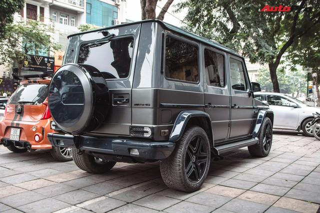 Mercedes-AMG G55 sở hữu hai màu sơn lạ mắt của đại gia buôn đồ xa xỉ tại Hà Nội - Ảnh 11.