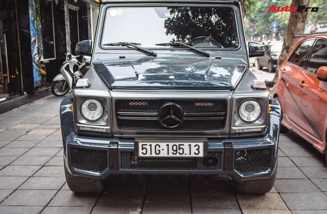 Mercedes-AMG G55 sở hữu hai màu sơn lạ mắt của đại gia buôn đồ xa xỉ tại Hà Nội - Ảnh 3.