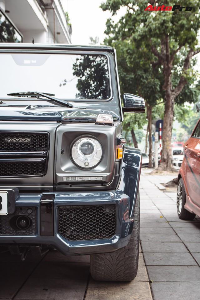 Mercedes-AMG G55 sở hữu hai màu sơn lạ mắt của đại gia buôn đồ xa xỉ tại Hà Nội - Ảnh 6.