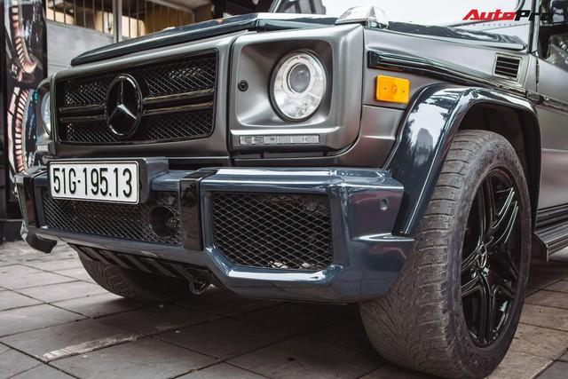 Mercedes-AMG G55 sở hữu hai màu sơn lạ mắt của đại gia buôn đồ xa xỉ tại Hà Nội - Ảnh 5.