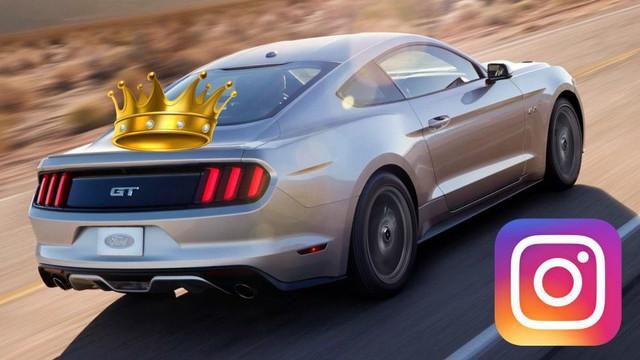 Đây là những mẫu xe phổ biến nhất trên Instagram, vị trí thứ 2 xuất hiện cái tên không ai ngờ tới