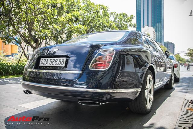 Đại gia Đà Nẵng đeo biển Lộc Phát cho hàng hiếm Bentley Mulsanne Speed - Ảnh 4.