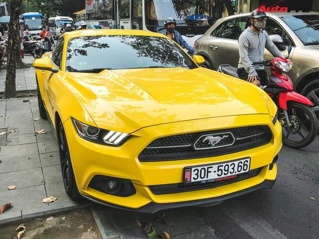 Ford Mustang 50th Anniversary duy nhất tại Hà Nội vừa được ra biển trắng mới toanh - Ảnh 1.