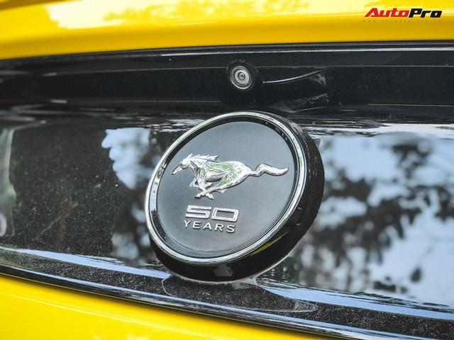 Ford Mustang 50th Anniversary duy nhất tại Hà Nội vừa được ra biển trắng mới toanh - Ảnh 8.