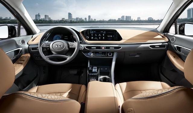 Người dùng trên tay nhanh Hyundai Sonata 2020 vừa ra mắt - Đối thủ tầm cỡ của Toyota Camry thế hệ mới - Ảnh 6.