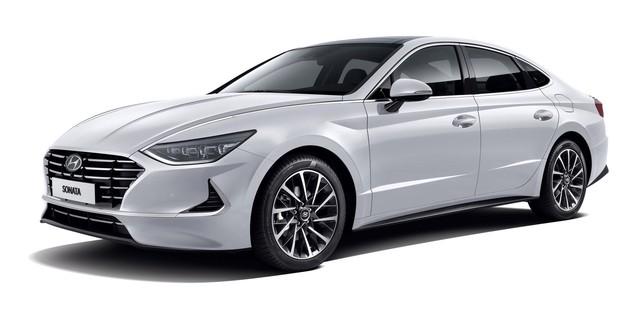 Người dùng trên tay nhanh Hyundai Sonata 2020 vừa ra mắt - Đối thủ tầm cỡ của Toyota Camry thế hệ mới - Ảnh 3.