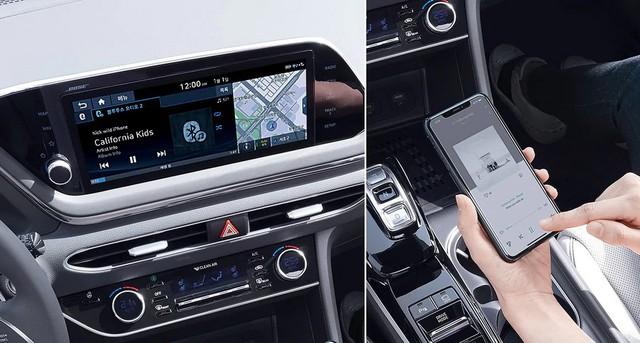 Người dùng trên tay nhanh Hyundai Sonata 2020 vừa ra mắt - Đối thủ tầm cỡ của Toyota Camry thế hệ mới - Ảnh 19.
