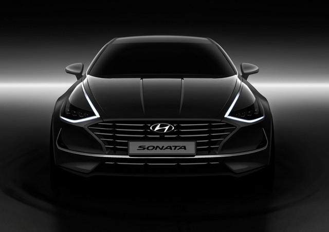 Người dùng trên tay nhanh Hyundai Sonata 2020 vừa ra mắt - Đối thủ tầm cỡ của Toyota Camry thế hệ mới - Ảnh 5.
