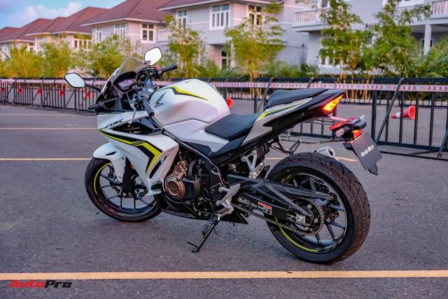 Chi tiết Honda CBR500R chính hãng đầu tiên tại Việt Nam: Giá bán 187 triệu đồng, nhập Thái, nhiều đổi mới đáng giá - Ảnh 7.