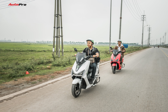38 km trải nghiệm xe máy điện Pega Newtech: Đủ bộc lộ rõ ưu nhược điểm của xe tự xưng 'sát thủ tay ga' - Ảnh 9.