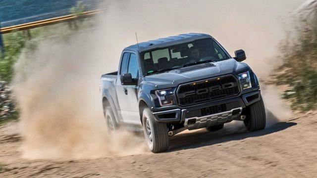 Ford đang âm thầm phát triển Ranger Raptor V8 mạnh gấp đôi bản thường - Ảnh 1.