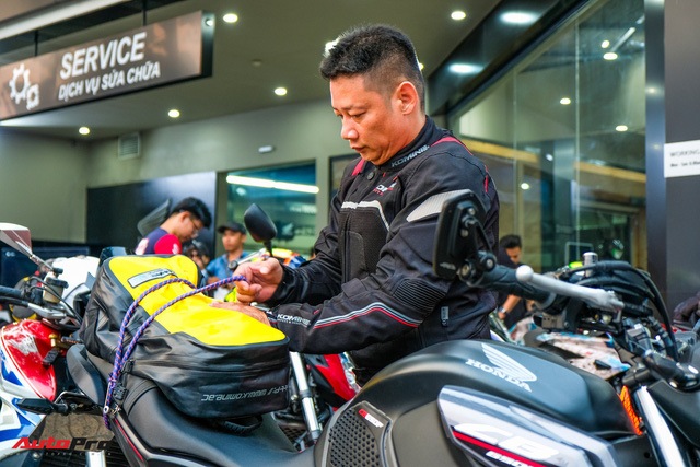 Những hình ảnh đáng nhớ của hơn 145 biker trên cả nước khuấy động ngày hội mô tô Honda - Ảnh 5.