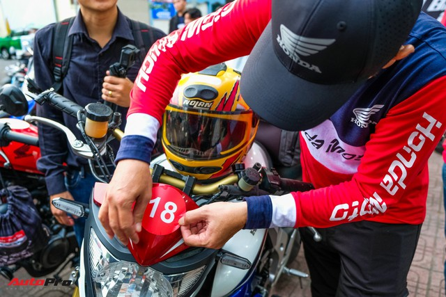 Những hình ảnh đáng nhớ của hơn 145 biker trên cả nước khuấy động ngày hội mô tô Honda - Ảnh 4.