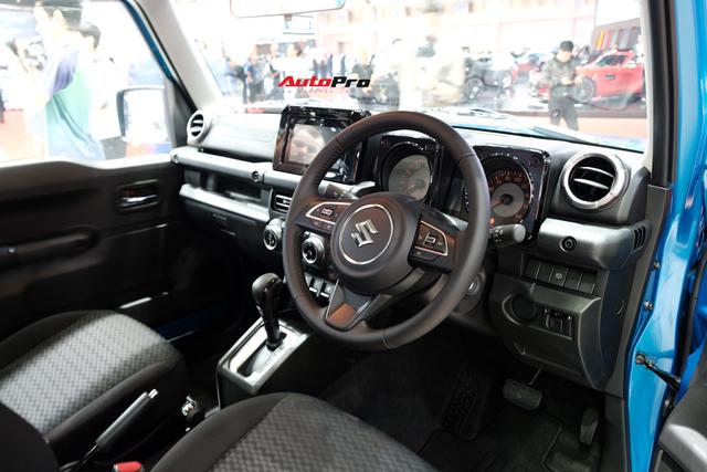 Hàng hot Suzuki Jimny ra mắt Thái Lan với mức giá không thể chát hơn, vạch tương lai mờ mịt ở Việt Nam - Ảnh 4.