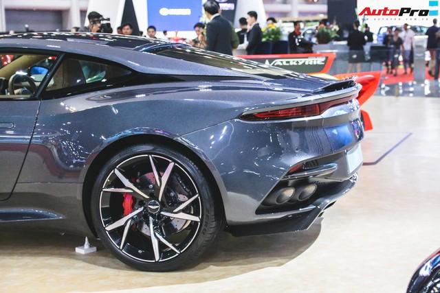 Aston Martin DBS Superleggera 2019 xuất hiện tại Bangkok, Ferrari trong khu vực run sợ đi là vừa! - Ảnh 4.