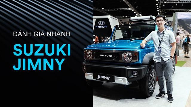 Đánh giá nhanh Suzuki Jimny: Quá nhiều bất ngờ sau mức giá tiền tỷ của tiểu G-Class