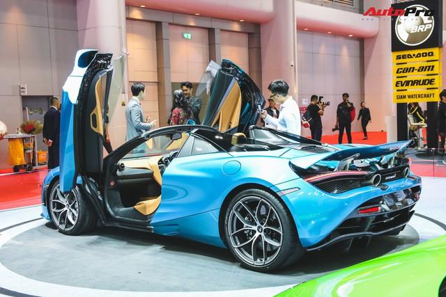 McLaren 720S Spider ra mắt Thái Lan - Đại gia Việt nào sẽ rước về garage? - Ảnh 7.