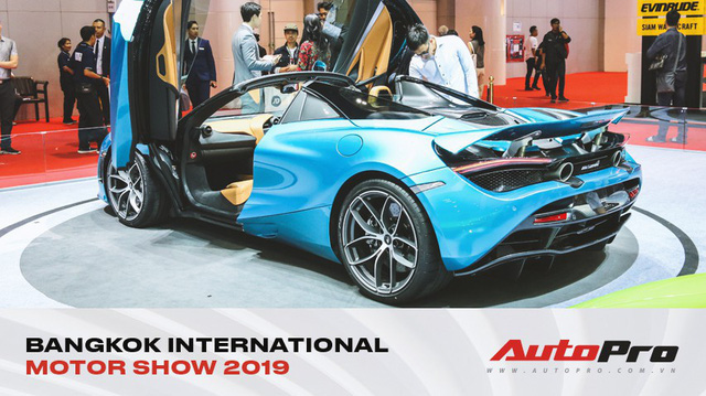 McLaren 720S Spider ra mắt Thái Lan - Đại gia Việt nào sẽ rước về garage?
